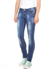 Y5319 джинсы женские, темно-синие