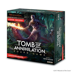 D&D: Tomb of Annihilation Adventure System Board Game (Standard Edition)