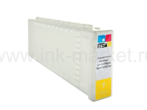 Картридж совместимый Epson C13T694400 Yellow для Epson SC-T3000, SC-T3200, SC-T5200, SC-T5000, SC-T7200, SC-T7000. Pigment 700 мл