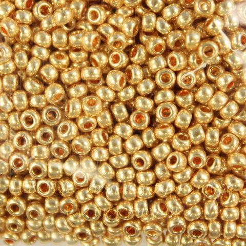 18304 Бисер 10/0 Preciosa Металлик медово-золотистый (18304100)