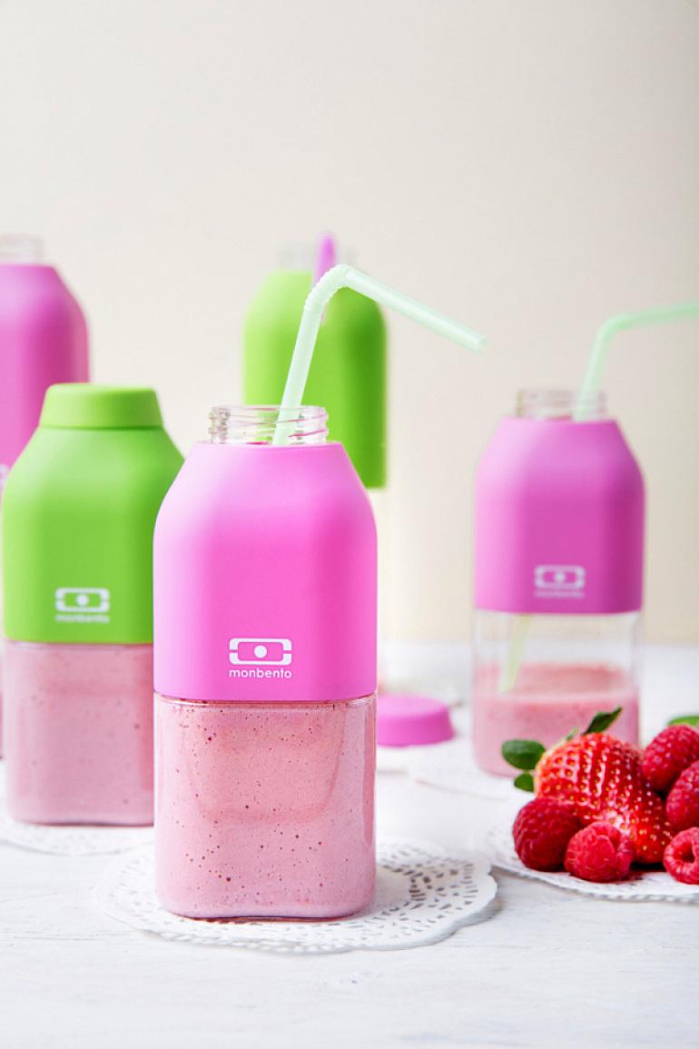 Бутылка Monbento Positive (0,33 литра) розовая