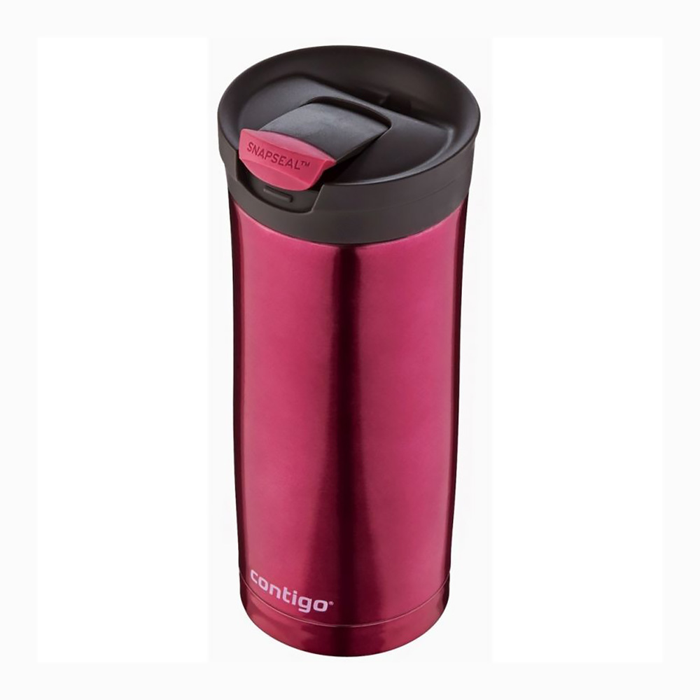 Термокружка Contigo Huron  (0.47 литра) розовая