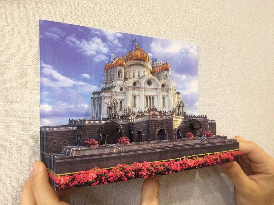 Папертоль Храм Христа Спасителя — пример собранной работы