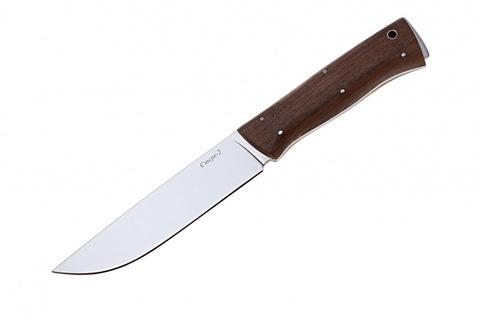 Туристический нож Стерх-2 Орех Полированный