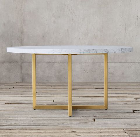 Torano Marble Round Dining Table