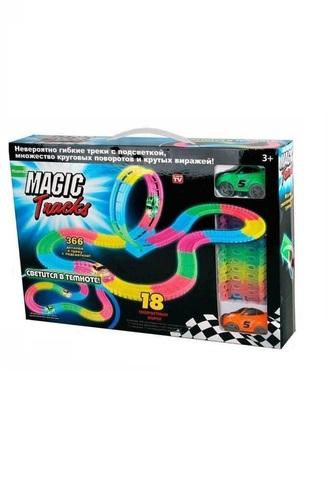 Magic Tracks  - Большая гоночная трасса + Мертвая петля (366 дет.)