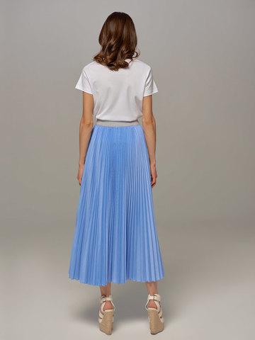 Женская юбка цвета деним Eleventy - фото 2