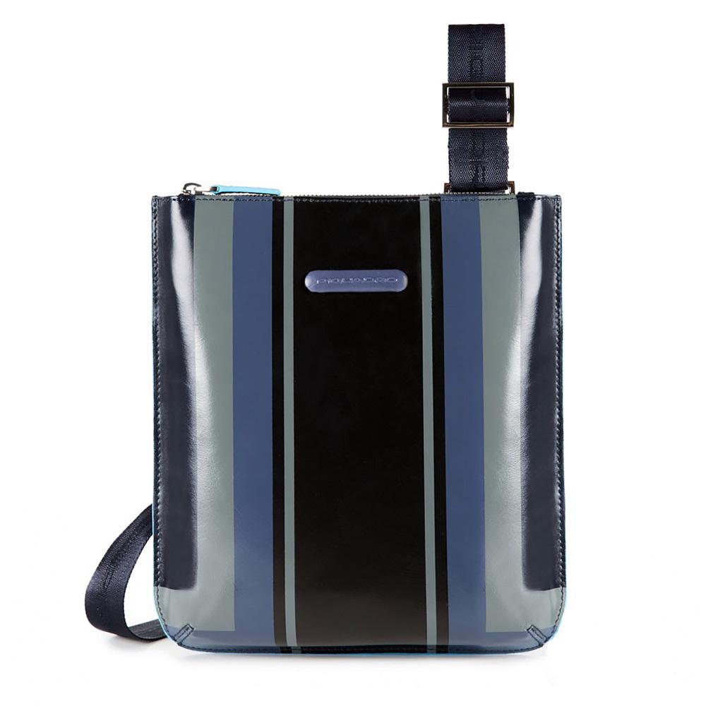 Сумка мужская Piquadro Blue Square, цвет синий, 22x25x2 см (CA1358B2SER/BLU)