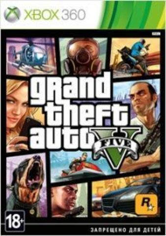 Microsoft Xbox 360 Grand Theft Auto V (GTA 5) (русские субтитры)