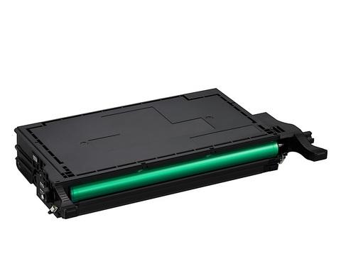 Картридж совместимый CLT-K508L для принтеров Samsung CLP-615/CLP-620ND/CLP-670N/CLP-670ND/CLX-6220FX/CLX-6250FX, голубой. Ресурс 4000 стр.