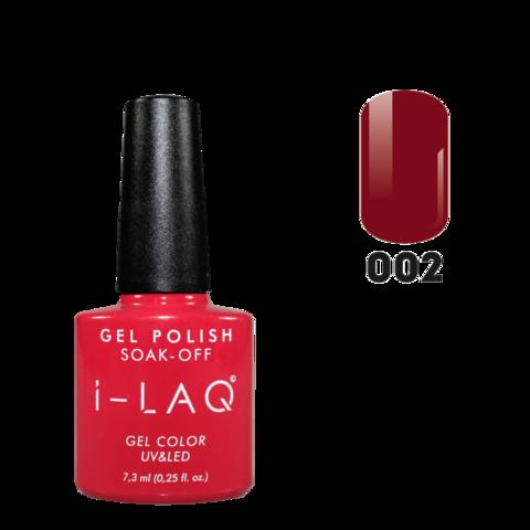 Гель лак для ногтей I-laq  002, 7,3 мл.
