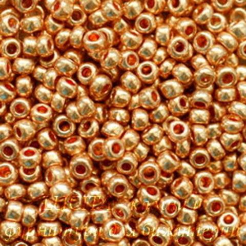 18305 Бисер 10/0 Preciosa Металлик медно-золотистый (18305100)