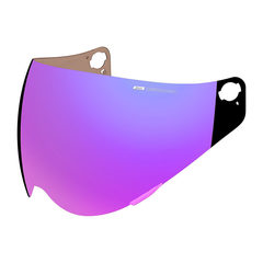 Визор Precision Optics Shield RST Purple / Variant / Фиолетовый