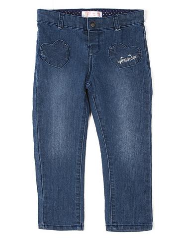 GJN008119 джинсы для девочек, медиум-дарк