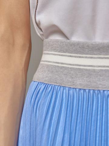Женская юбка цвета деним Eleventy - фото 3