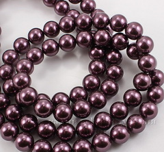 5810 Хрустальный жемчуг Сваровски Crystal Burgundy круглый 6 мм, 5 шт