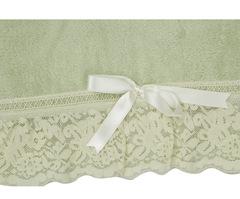 Полотенце 110х150 Old Florence Валансье зеленое