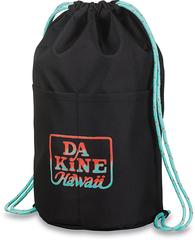 Рюкзак-мешок Dakine CINCH PACK 17L BLACK TROPICAL