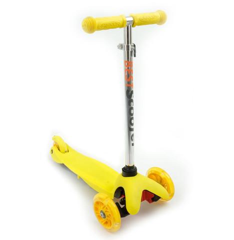 Самокат детский Scooter 21st Mini- Желтый.