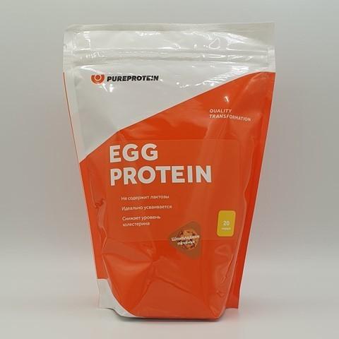 Яичный протеин вкус Шоколадное печенье PUREPROTEIN, 600 гр