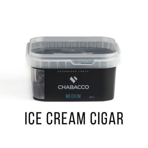 Chabacco 200гр - Ice cream cigar (Мороженое-сигара)