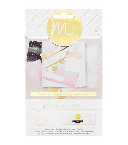 Журнальные карточки для фольгирования Minc Project Life Themed Cards 40шт