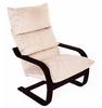 Кресло «Онега», ткань карамель, каркас венге, GREENTREE, г. Воронеж