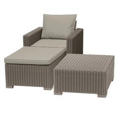 Садовый комплект плетеной мебели Moorea Relaxe Set