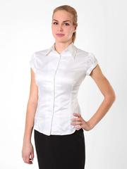 084108 блузка женская, белая