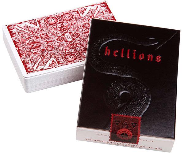 Игральные карты Ellusionist Red Hellions