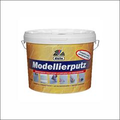 Штукатурка для фасадных и внутренних работ Dufa MODELLIERPUTZ (Белый)