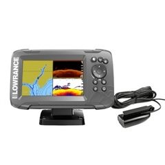 Эхолот Lowrance HOOK2-7 SPLITSHOT US COASTAL/ROW