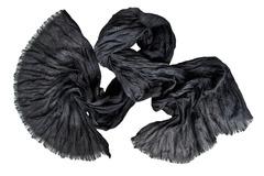 Шарф жатка черный 0378