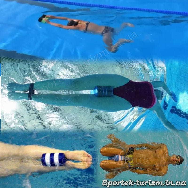 Использование калабашки для тренировок по плаванию