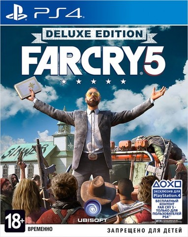 Sony PS4 Far Cry 5. Deluxe Edition (русская версия)