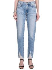 GJN010033 джинсы женские, медиум/лайт