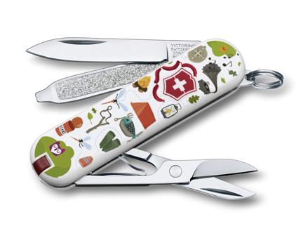 "Нож-брелок Victorinox Classic LE 2015, 58 мм, 7 функ, ""Nature Adventure"" (0.6223.L1505)"