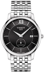 Мужские швейцарские часы Tissot Tradition Automatic Small Second T063.428.11.058.00