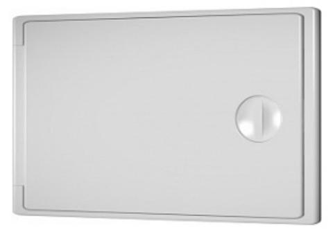 Люк-дверца накладной с замком 150х100 пластиковый