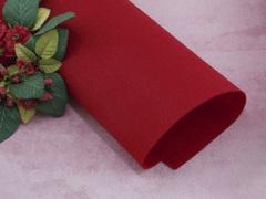 Фетр жесткий толщина 1 мм темно-красный