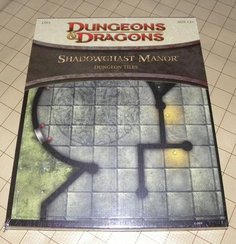 Shadowghast Manor Dungeon Tiles