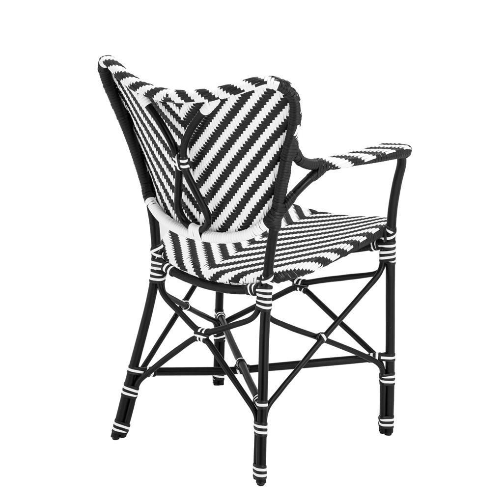 Обеденный стул Eichholtz 110596 Colony (с подлокотниками)
