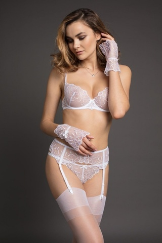 P00-146 Перчатки - LAETE One size белый
