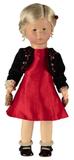 Kathe kruse. Элеонор в красном платье.
