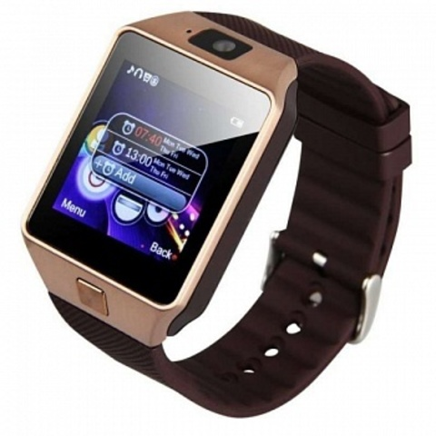 Умные часы Smart Watch DZ09 Gold