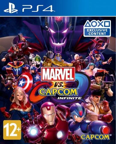 Sony PS4 Marvel vs. Capcom: Infinite (русские субтитры)
