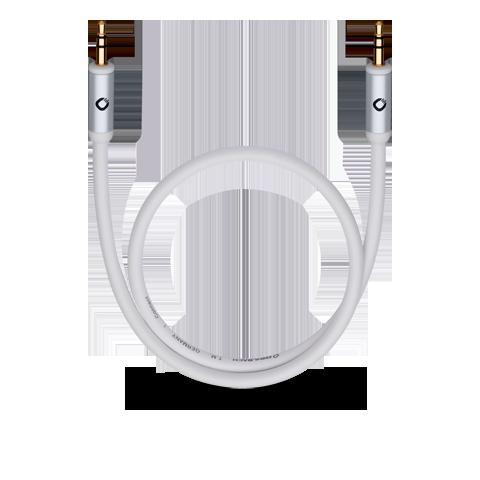 Oehlbach J-35 150, white, кабель для наушников