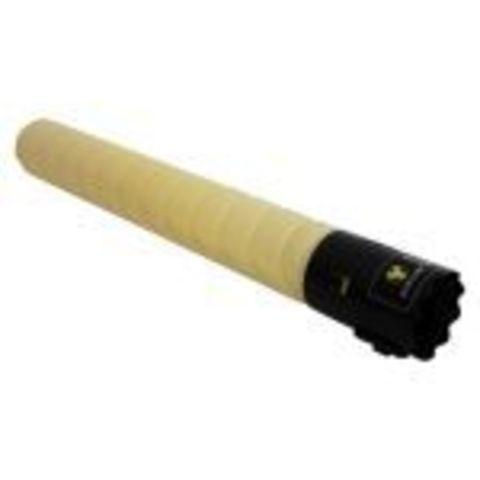 Совместимый тонер-картридж TN-221Y для Konica Minolta bizhub C227/C287, желтый. Ресурс 21 000 стр. (A8K3250)