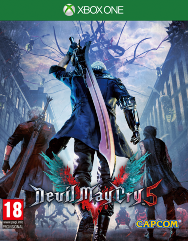 Microsoft Xbox One Devil May Cry 5 (русские субтитры)
