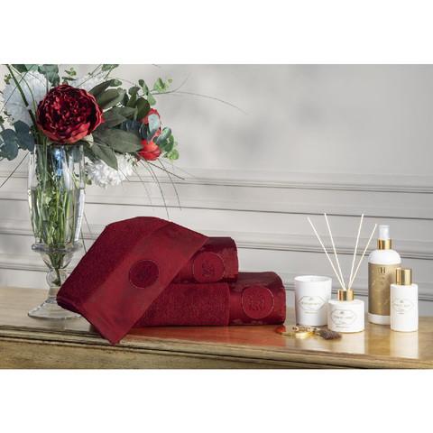 Набор полотенец  Violetta 3 пр +ароматизатор  TIVOLYO HOME Турция